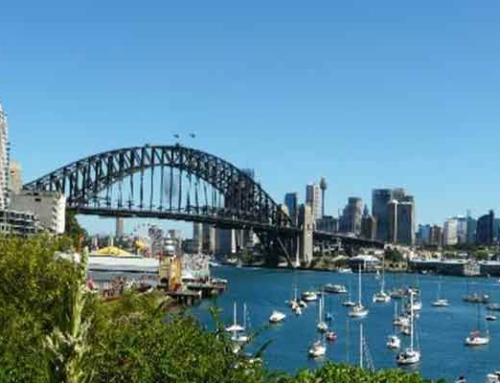 Make a holiday in Kirribilli October to November